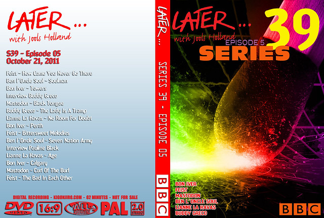 Later... Series 39 Episode 05