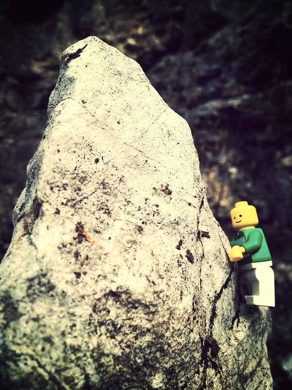 climbing intermezzo @ mühlstein