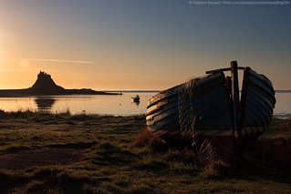 35. Water (16/52) - Holy Island Harbour