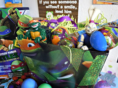 "Dudley's Easter :: Nickelodeon ""TEENAGE MUTANT NINJA TURTLES"" EASTER EGG DECORATING KIT ii (( 2014 ))"