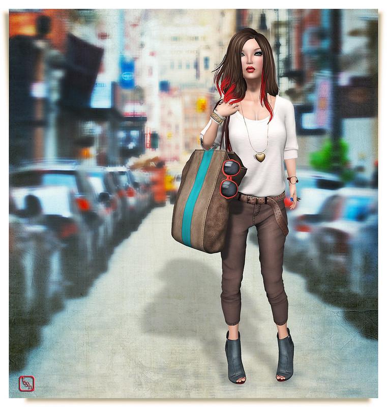 City Stroll by Maitreya.