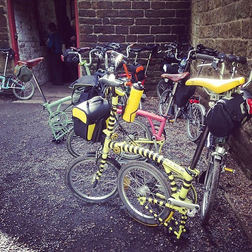 LBC Sheffield Region Annual Ride. #brompton #bromptonbicycle #urban #lbclub