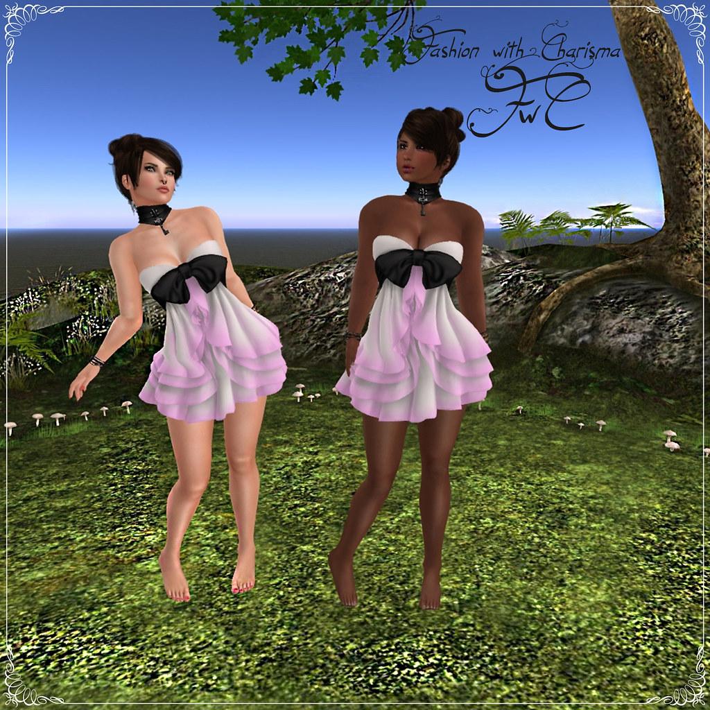 Lilbit Sass - Jonquil (Ombre Fushia)