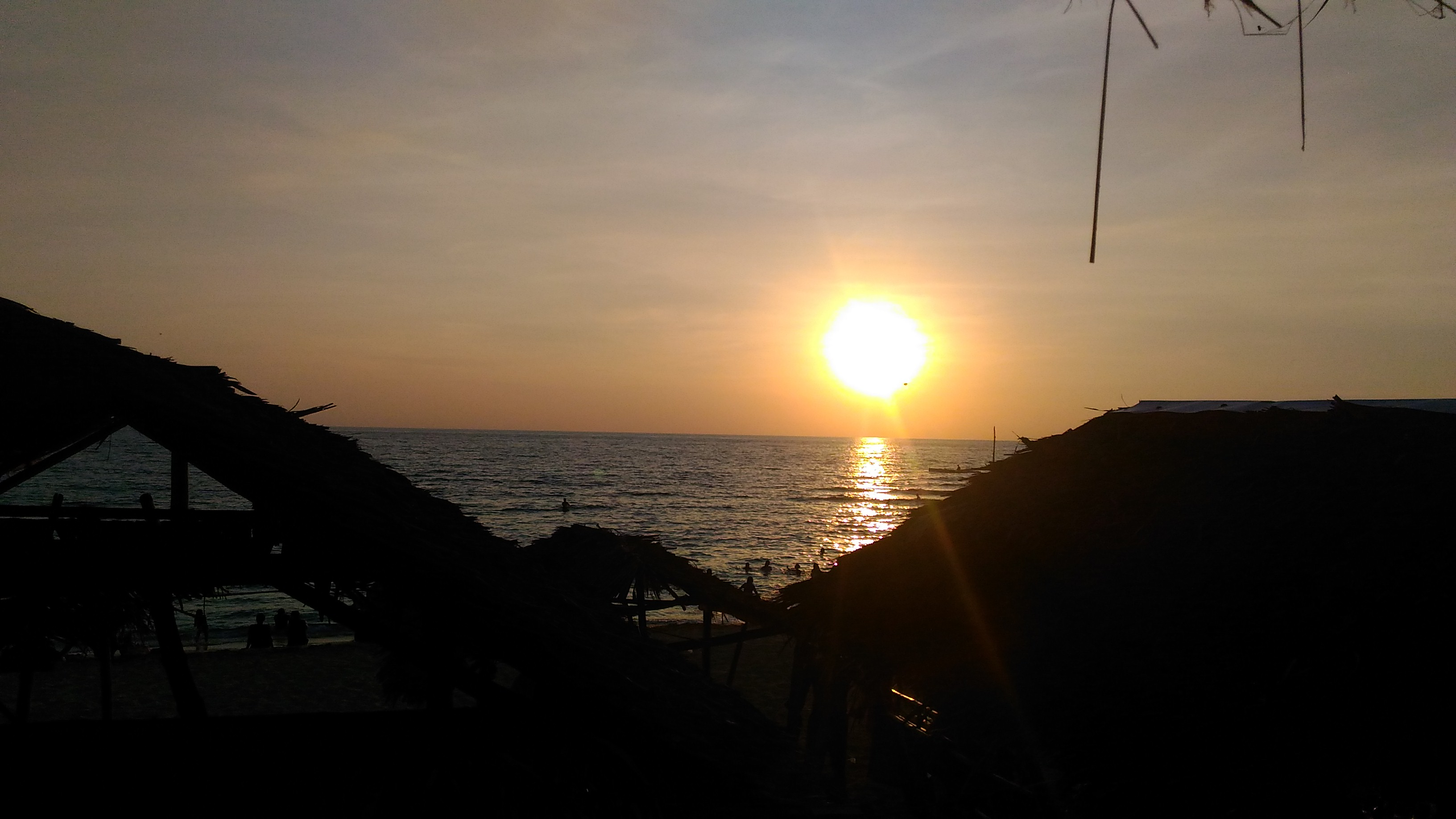 patar beach sunset