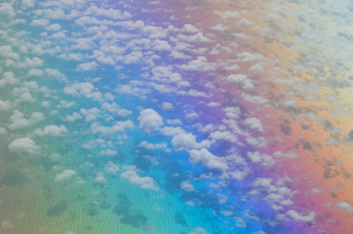 無料写真素材, 自然風景, 雲, 海, 虹, 風景  メキシコ