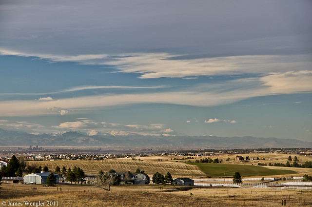Front range from Parker-5