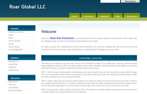 Roar Global LLC by totemtoeren