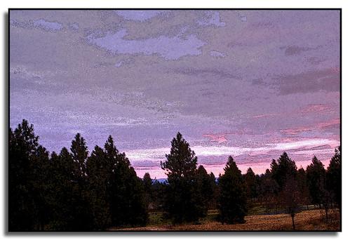 photoshop sunrise painting washington spokane