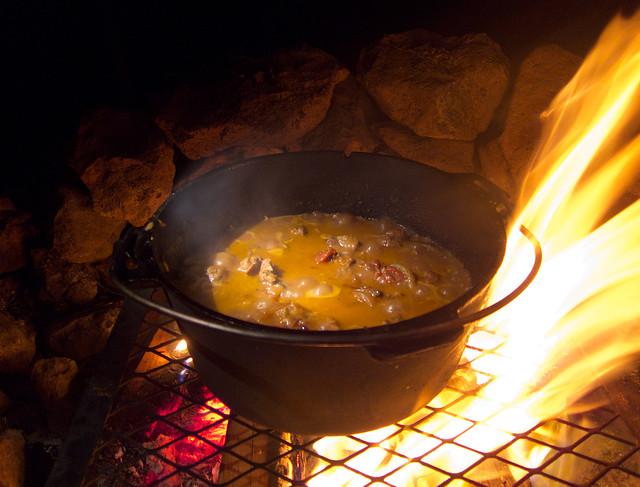 Campfire Lamb - Chazz Layne