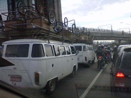 Comboio de Kombi