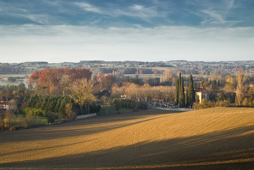 Late November Afternoon in the Midi-Pyrenees