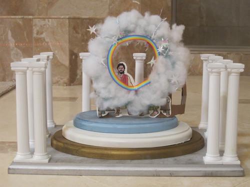 Model Throne of God