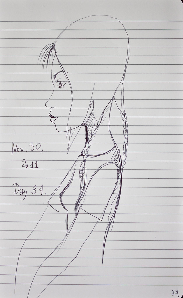 Day 34 | Nov 29, 2011 | Egg Shaped Head