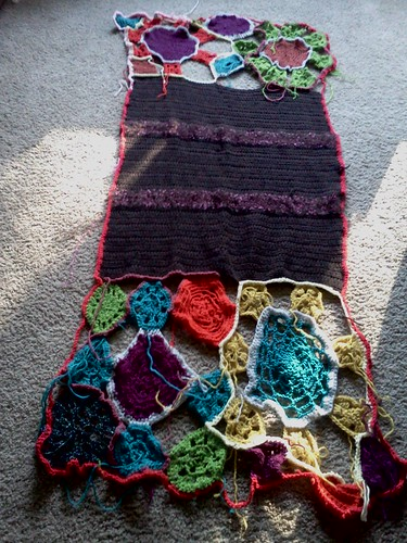 Afghan the third in progress