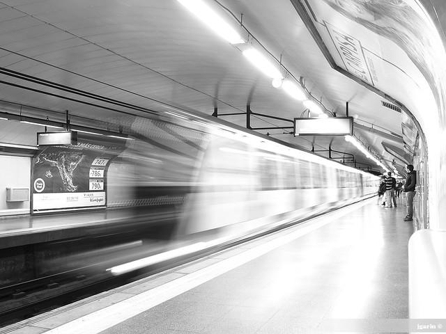 Metro de Madrir, estación Sol