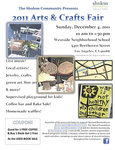 Sholem Community: Arts & Crafts Fair
