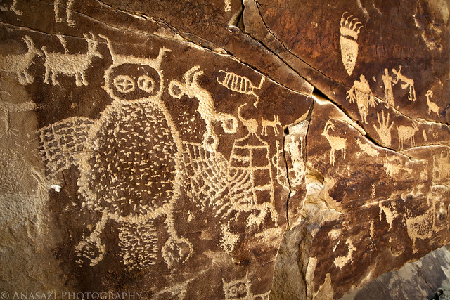 Nine Mile Owl Petroglyphs