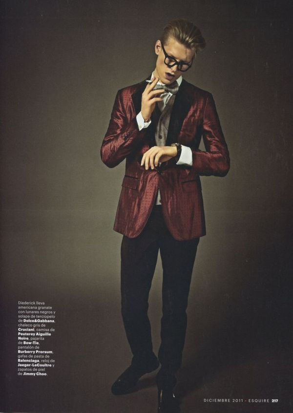 Esquire Spain December 2011_06Diederik Van Der Lee(sight Management)