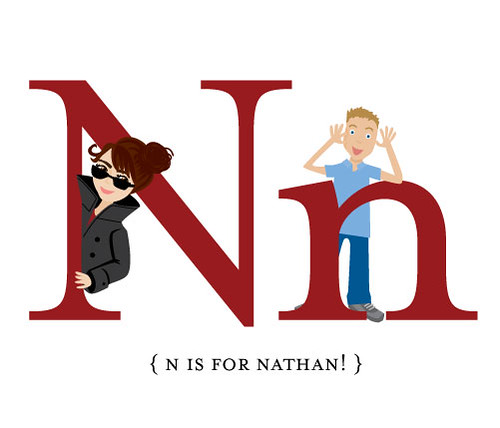 N is for Nathan!