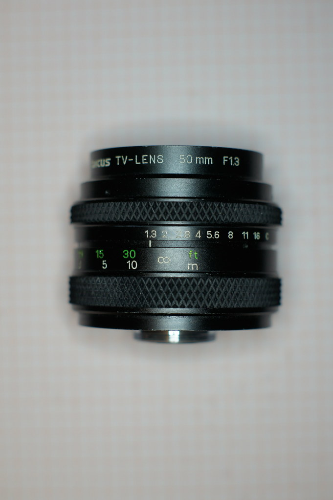 Tarcus TV-Lens 50mm F1 3 on NEX