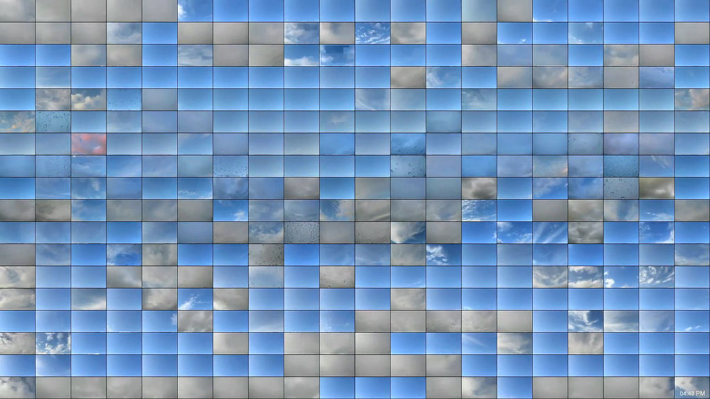 Time-Lapse Mosaic of the Sky on Every Day of the Year