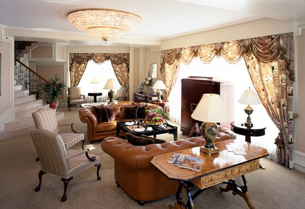 15) The Ritz-Carlton Suite Living Room