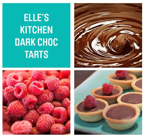 Elles Kitchen Choc tarts
