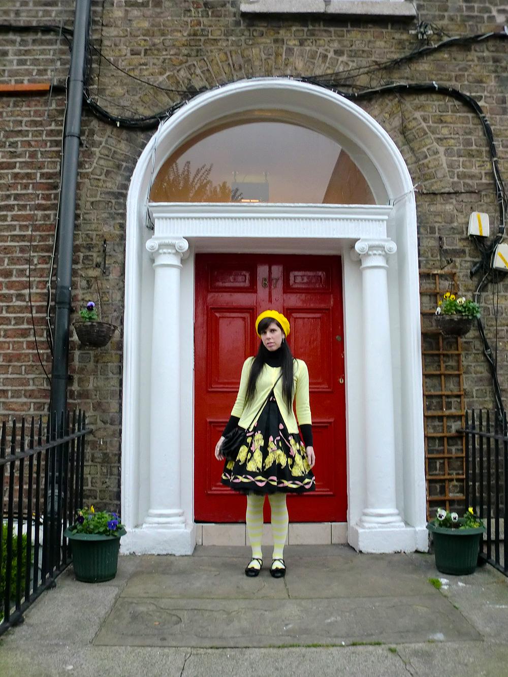 Dublin Red Door - Dublin, Ireland.