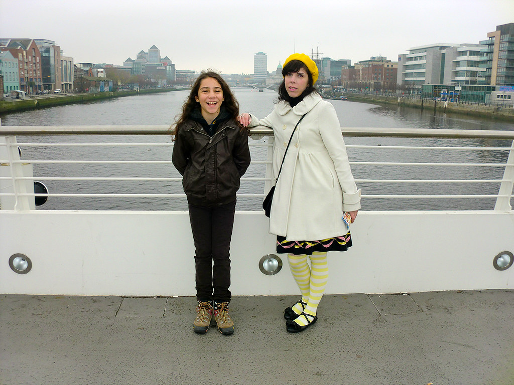 River Liffey - Dublin, Ireland.
