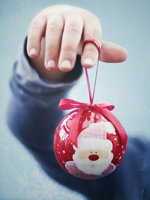 La nueva bola de Papá Noel