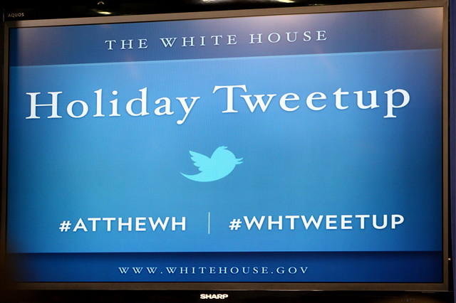 White House Holiday Tweetups