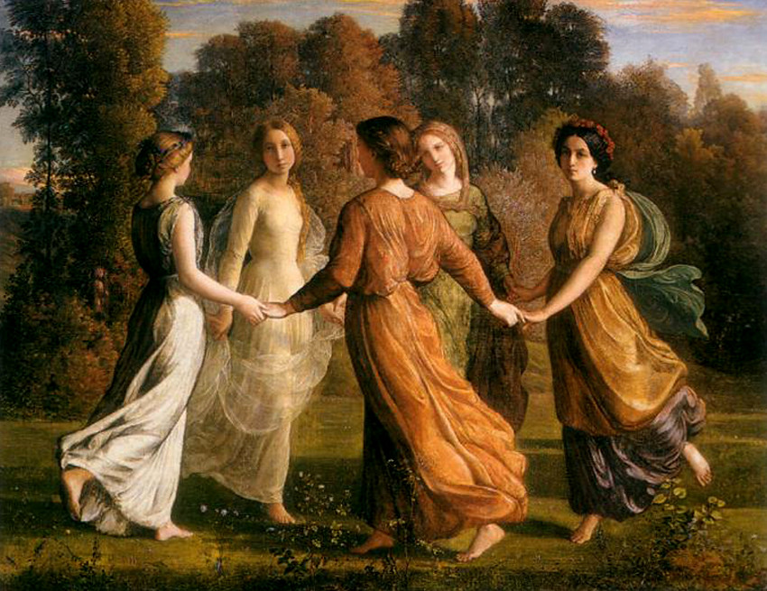 Louis Janmot - Rays of the Sun