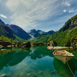Bondhusvatnet, Hardanger, Norway