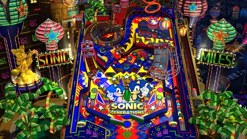 Sonic Generation casino night pinball3