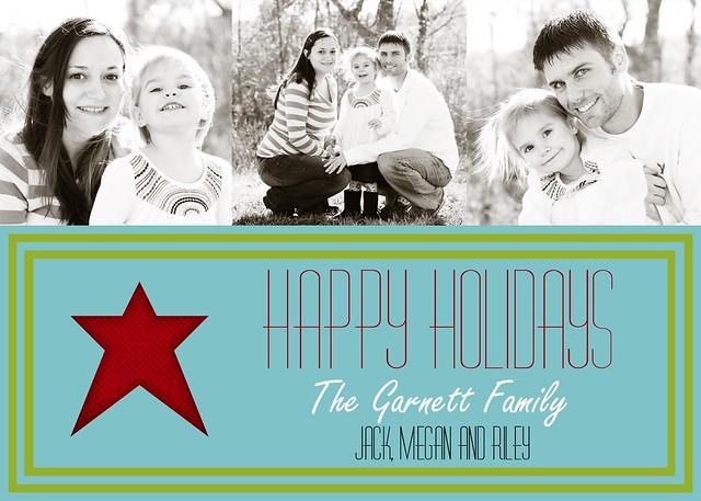 Happy Holiday Tri-Photo