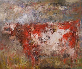 red cow  120 x 140 cm (SOLD)