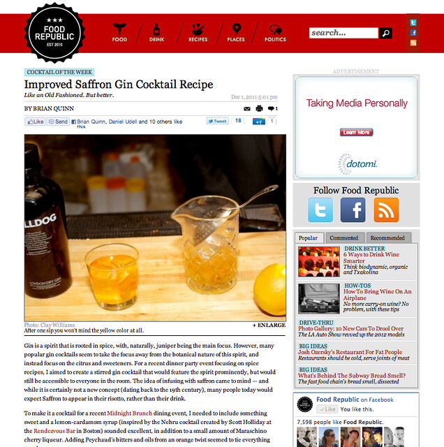 Food Republic Press for Midnight Brunch
