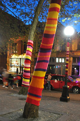 yarn bombing in Pioneer Square, Seattle (by: Jim Culp, creative commons license)