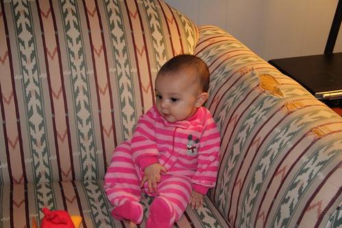 Jovie's 5 month pose