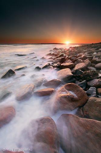 memotret sunrise