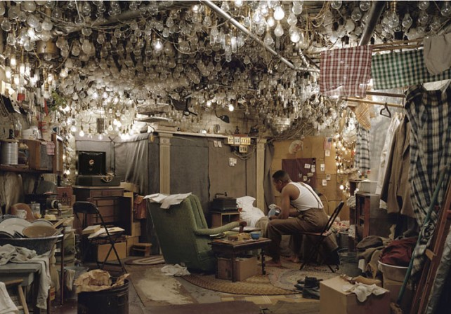 invisible man prologue, jeff wall, dark days, ralph ellison