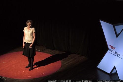 Jakki Mohr of The University of Montana Missoula explains Biomimicry to TEDxSanDiego    MG 3929