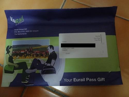 Eurail Pass Gift