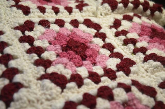 Granny Square Blanket Details