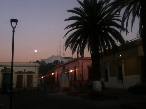 Moonset @ Oaxaca 12.2011