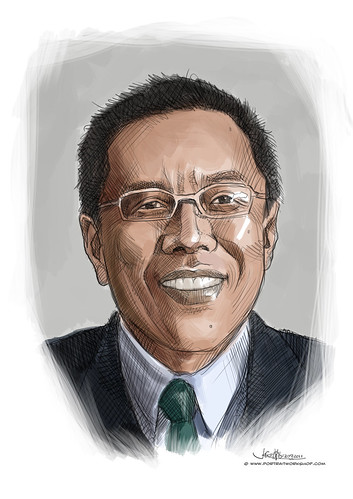 digital portrait of BBM-Low Teo Ping