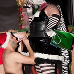 Sexxy Santa and 16th Anniv at Pistons 026