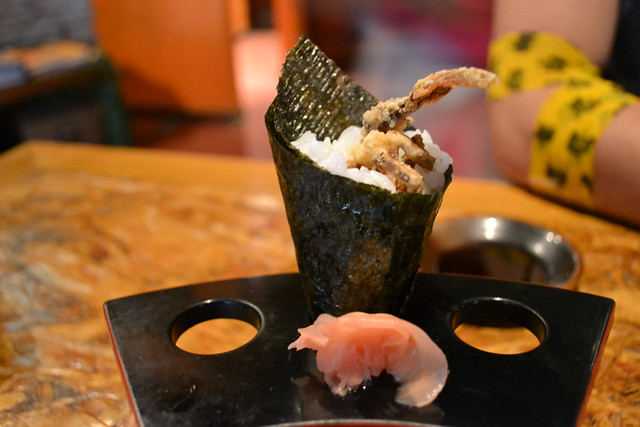 Soft Shell Crab Handroll at En Japanese Dining Bar