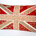 Paper Pieced Union Jack Pillow