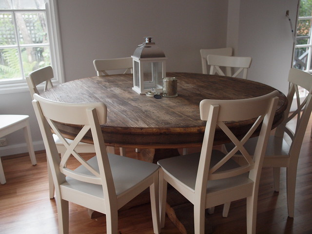 Everything you wanted to know about my kitchen for Small circle kitchen table